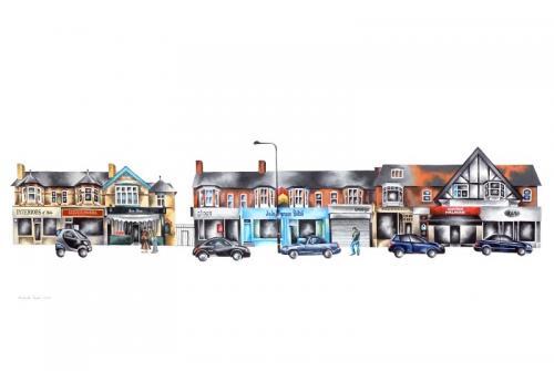 Hale Village Canvas